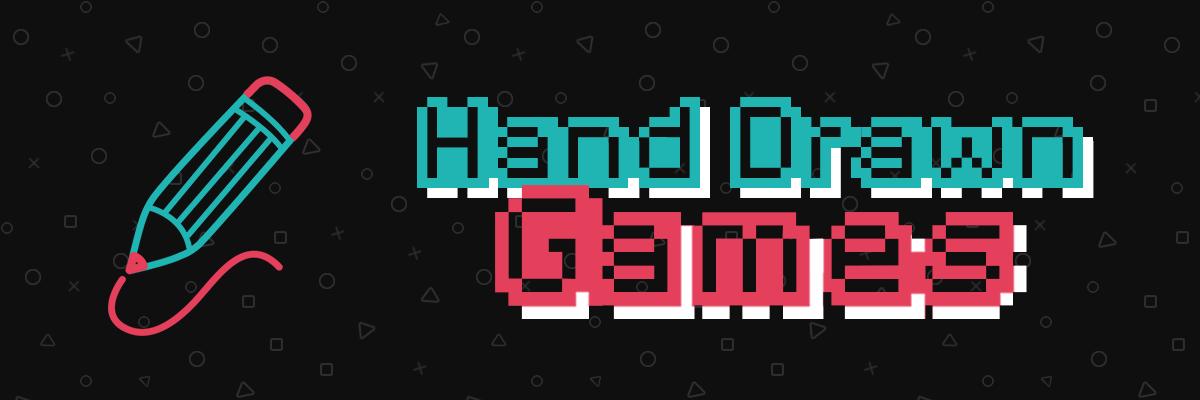 hand drawn games