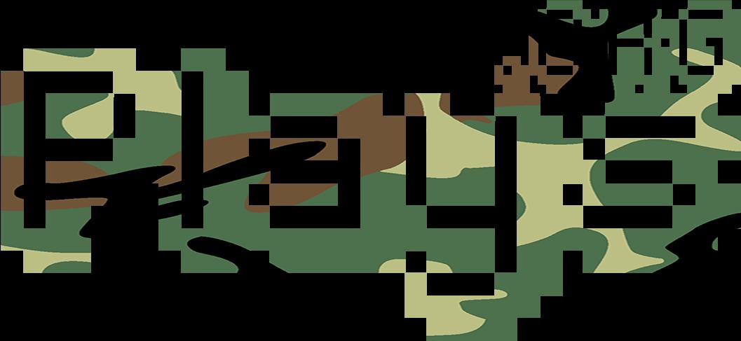 Plays.org logo camo.
