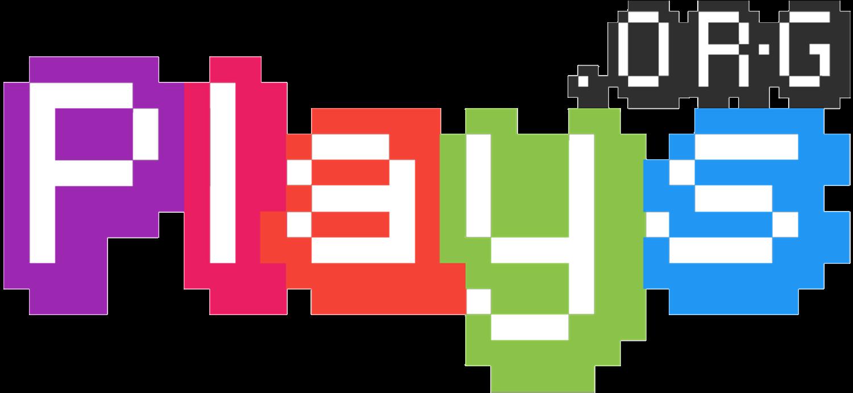 Plays.org logo retro.