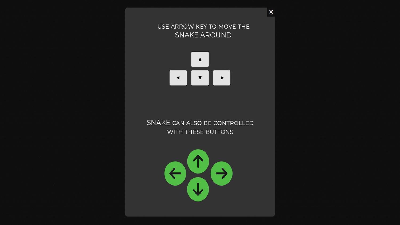 3D Super Snake Game Controls.