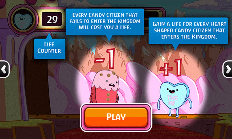 Adventure Time Gate Crashers Game Play Tips Screenshot.