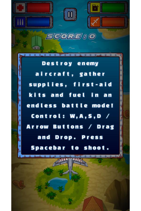 Air Warfare Game Mechanics Screenshot.