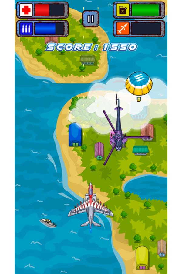 Air Warfare Game Screenshot.