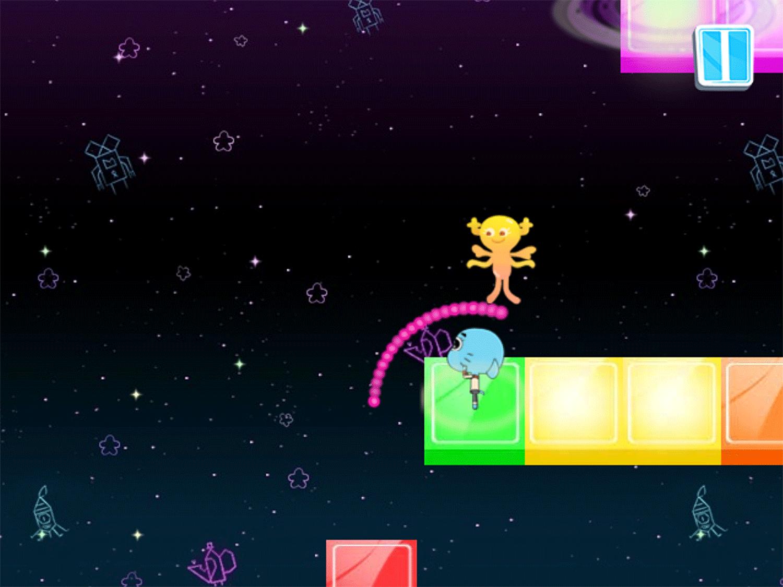 Amazing World of Gumball Gumball's Rhythmic Romance Game Screenshot.