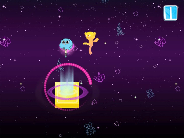 Amazing World of Gumball Gumball's Rhythmic Romance Game Level Complete Screenshot.