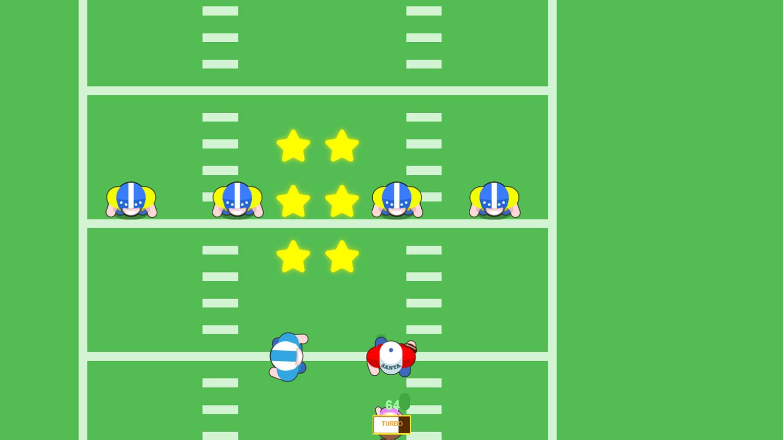 American Football Santa`s Run Game Screenshot.