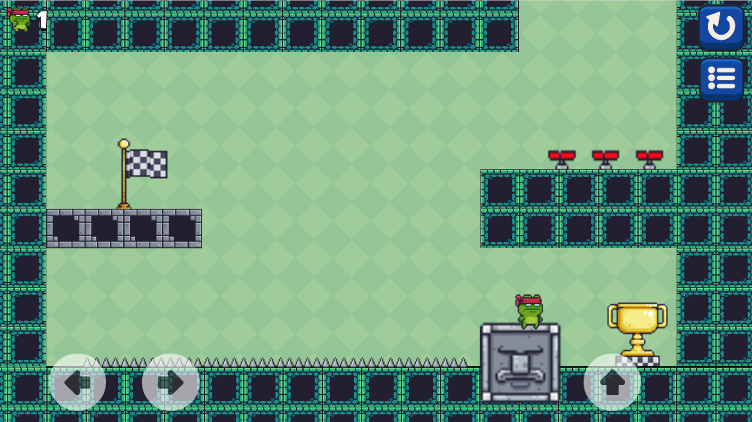 Among Dungeon 2 Level End Cup Screenshot.