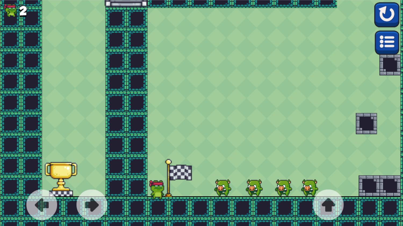 Among Dungeon 2 Flag Pole Screenshot.