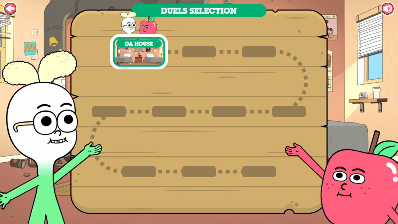 Apple & Onion Beats Battle Duels Selection Screenshot.