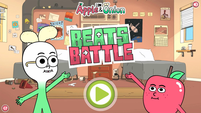 Apple & Onion Beats Battle Welcome Screen Screenshot.