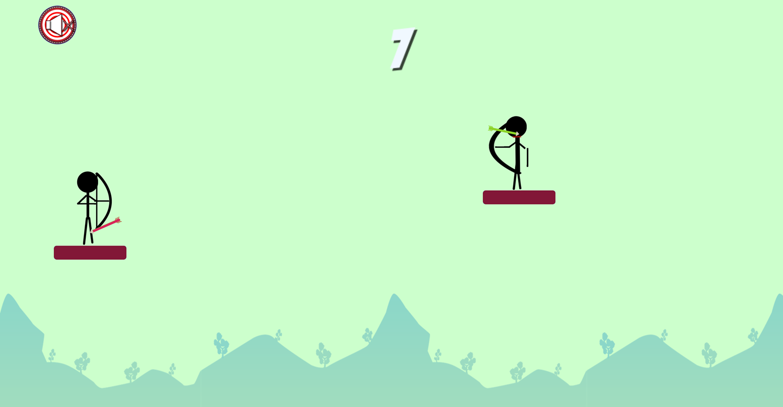 Archery Stickman Game Screenshot.