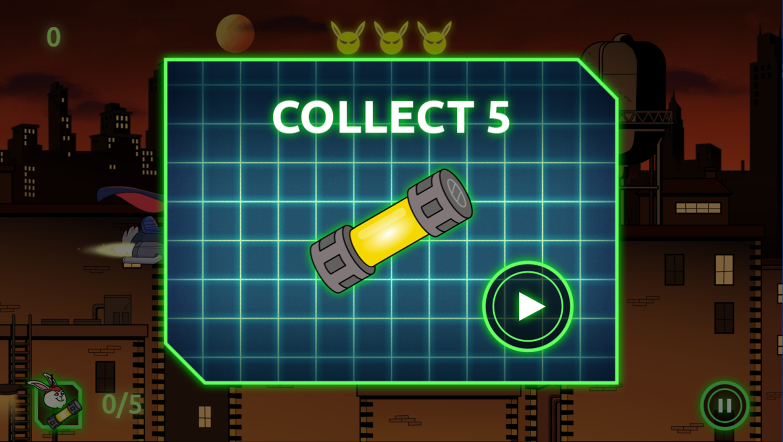 Arthur Dark Bunny Needs Your Help Game Goal Screenshot.