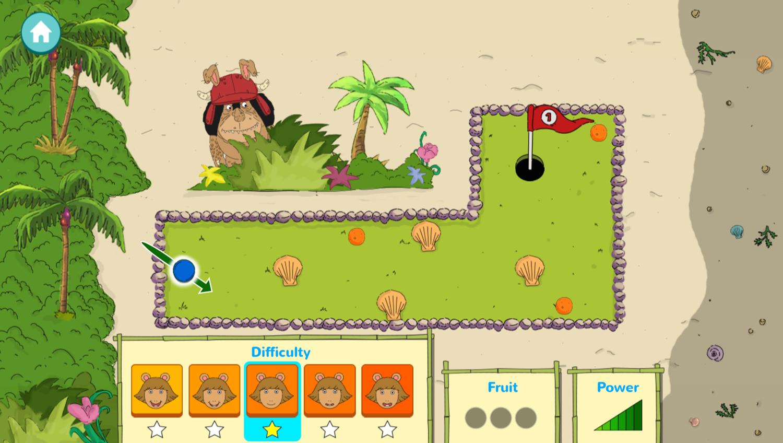 Arthur D.W.'s Island Bugball Game Play Screenshot.