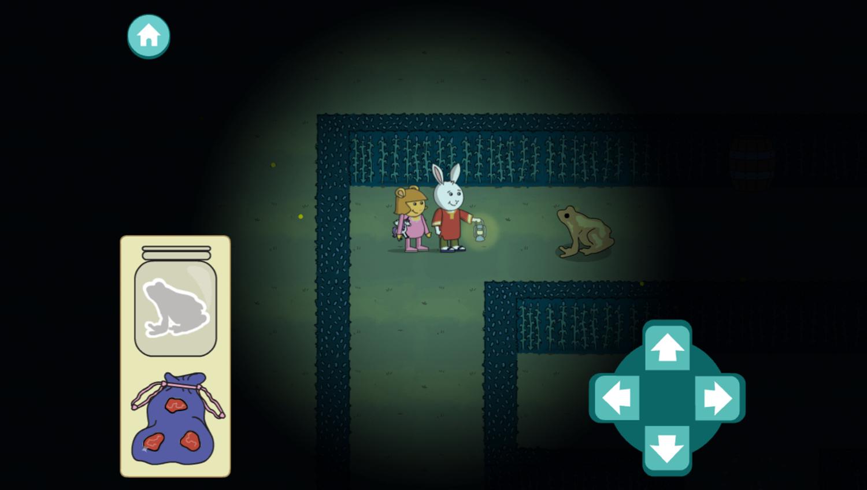 Arthur Moonlight Mazes Game Play Screenshot.
