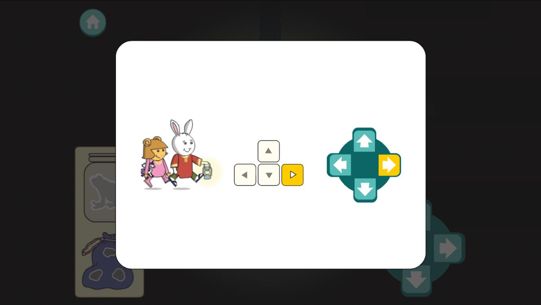 Arthur Moonlight Mazes Game How To Move Screenshot.