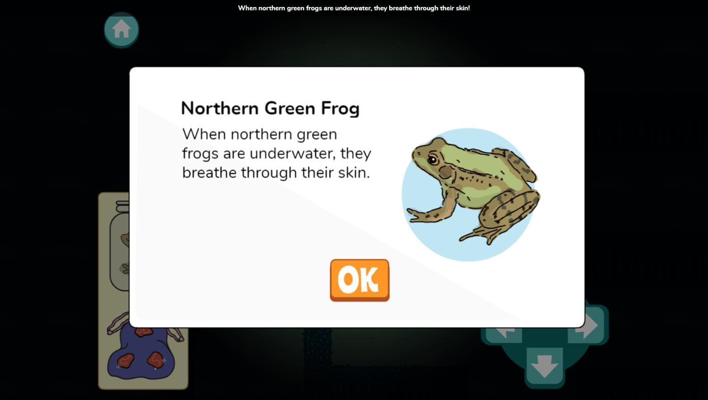Arthur Moonlight Mazes Game Species Found Screenshot.