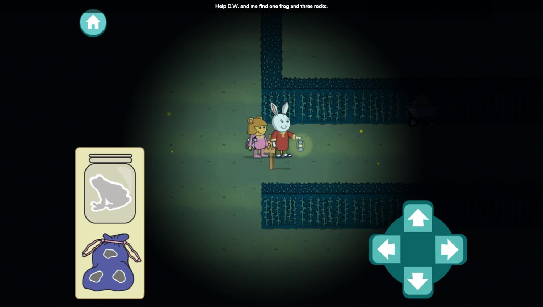 Arthur Moonlight Mazes Game Stage Start Screenshot.
