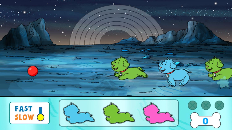Arthur Planet Pal Game Start Screenshot.