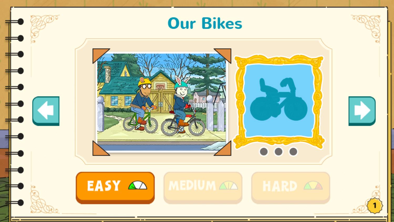 Arthur's Top 20 Game Our Bikes Screenshot.