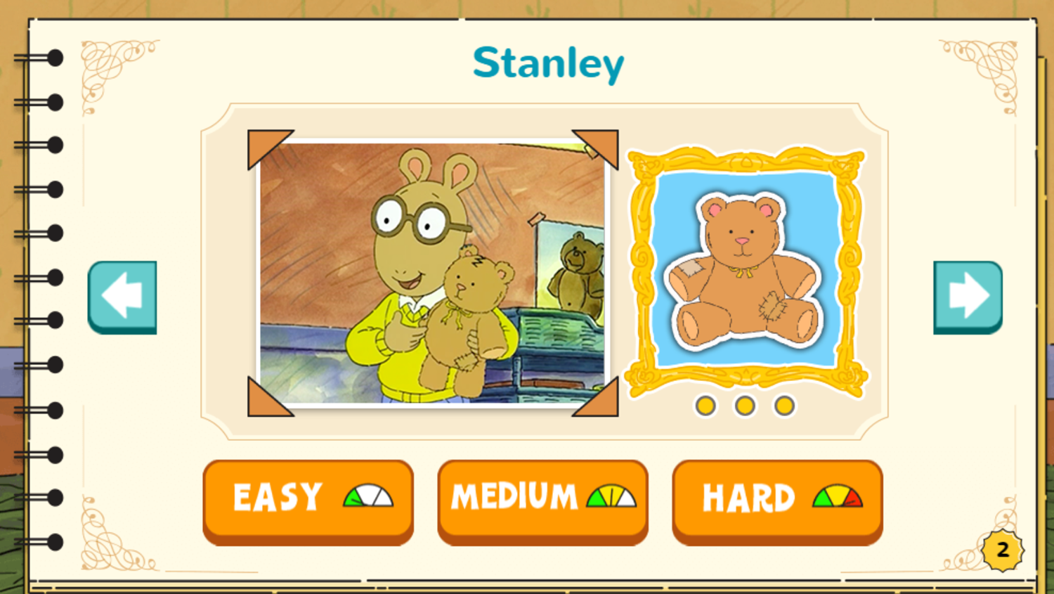 Arthur's Top 20 Game Stanley Completed Screenshot.