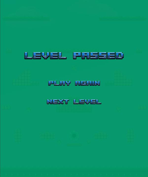 Barbarian Escape Level Passed Screenshot.