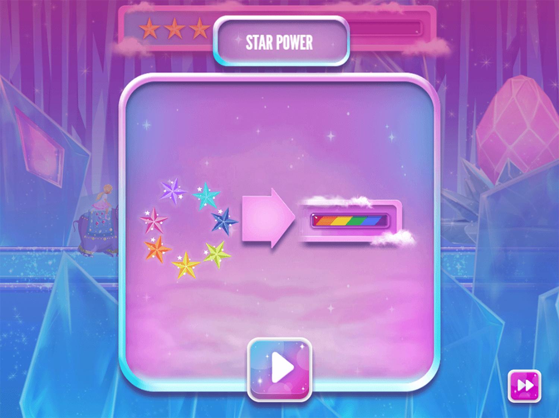 Barbie Dreamtopia Sparkle Mountain Royal Ride Game Extra Tips Screenshot.