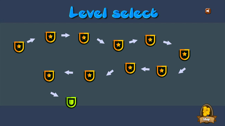 Base Defense Level Select Screenshot.