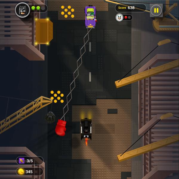 Batman Gotham City Speed Game Screenshot.