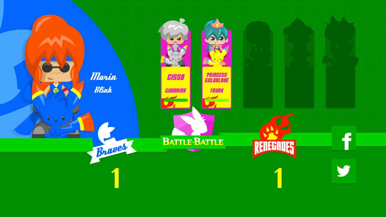 Battle Battle Game Scoring Screenshot.