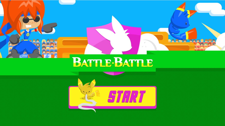 Battle Battle Game Welcome Screenshot.