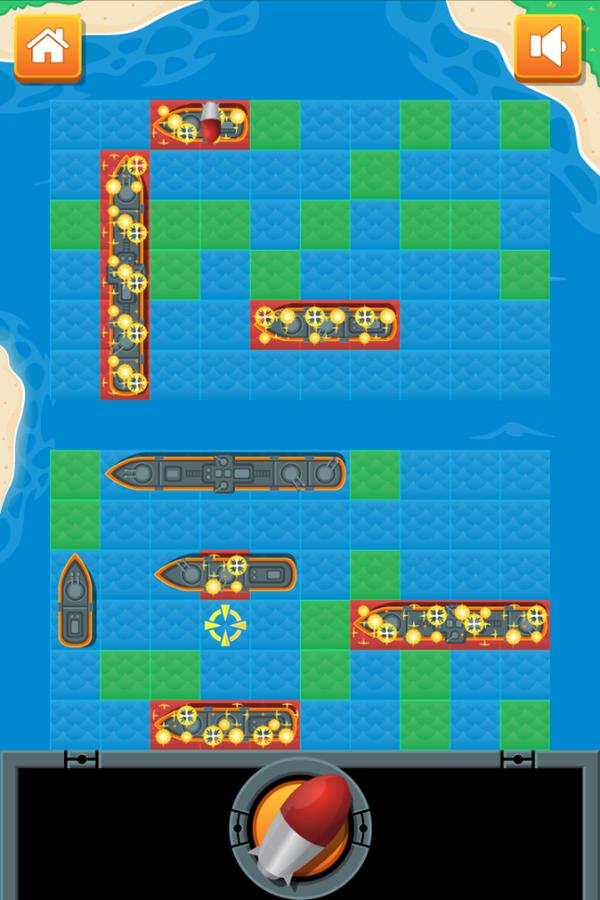 Battleship Game Enemy Screenshot.