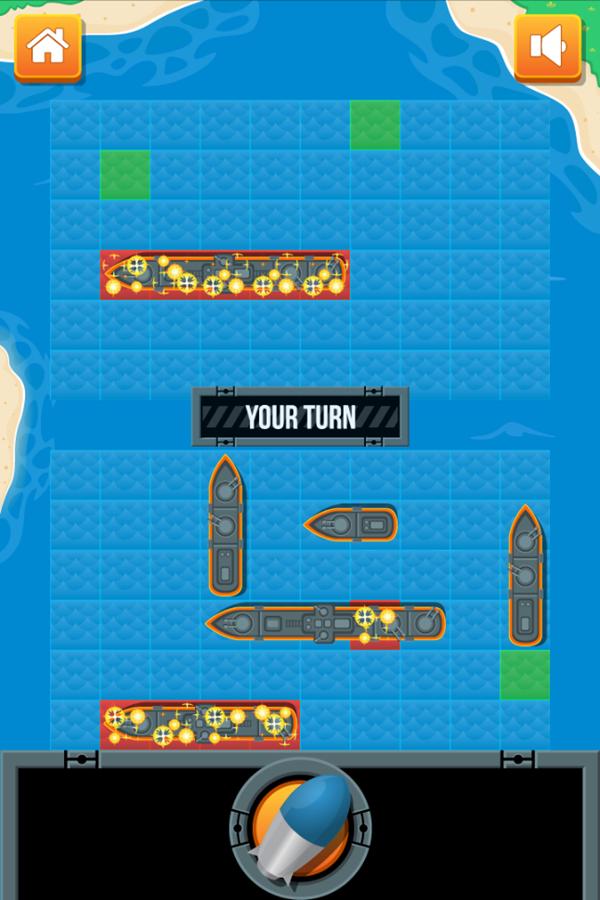 Battleship Game Screenshot.