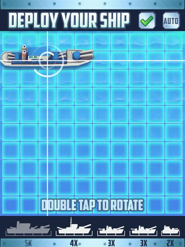 Battleships Armada Deploy Your Ships Screenshot.