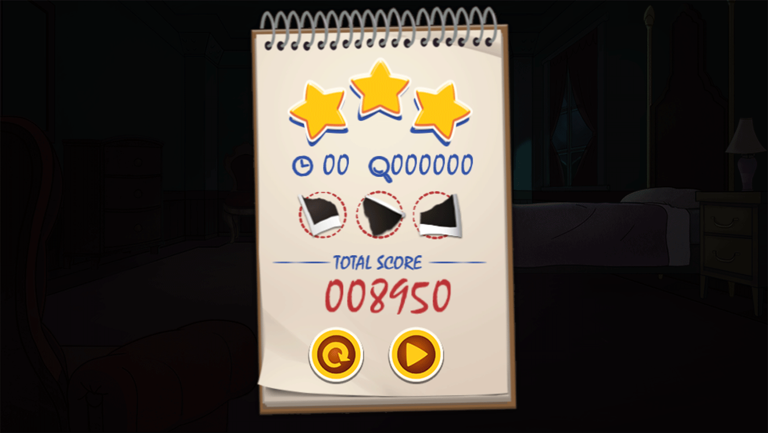 Be Cool Scooby Doo the Mysterious Mansion Score Screenshot.