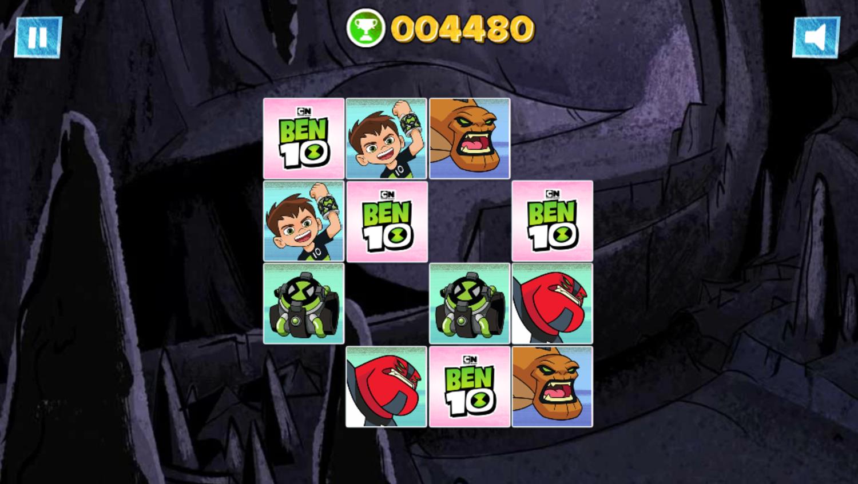 Ben 10 Match Up Game  Screenshot.