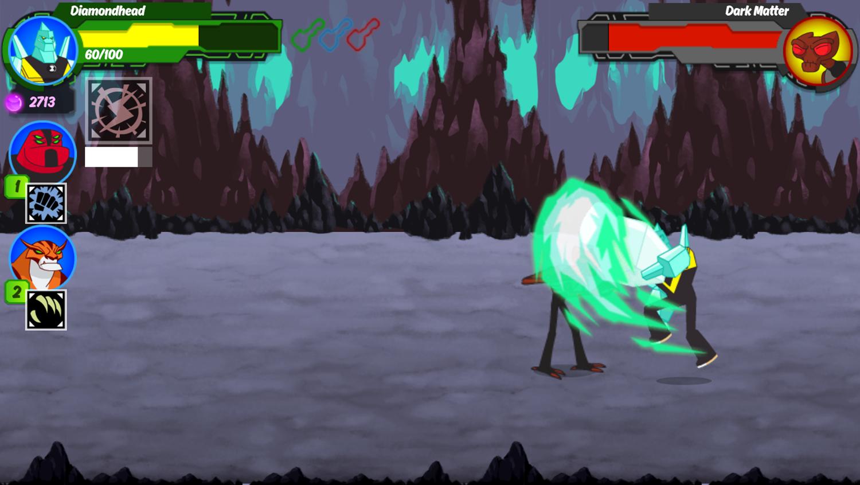 Ben 10 Omnitrix Shadow Game Boss Fight Screenshot.