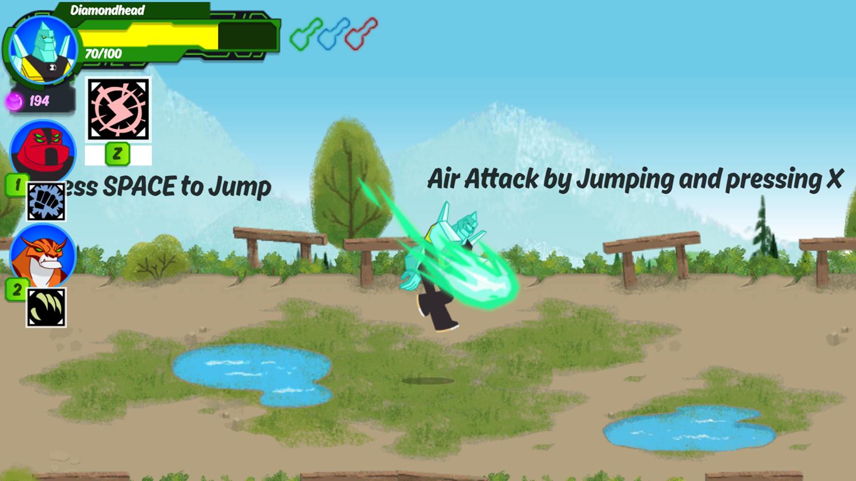 Ben 10 Omnitrix Shadow Game Play Tips Screenshot.