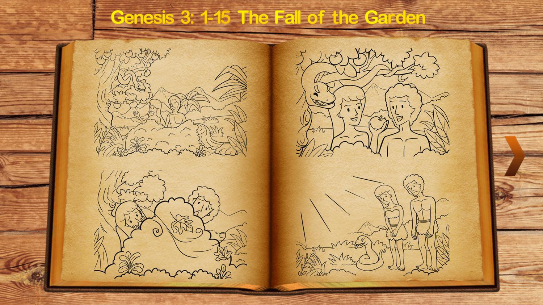 Bible Coloring Book for Kids Scene Select Screenshot.