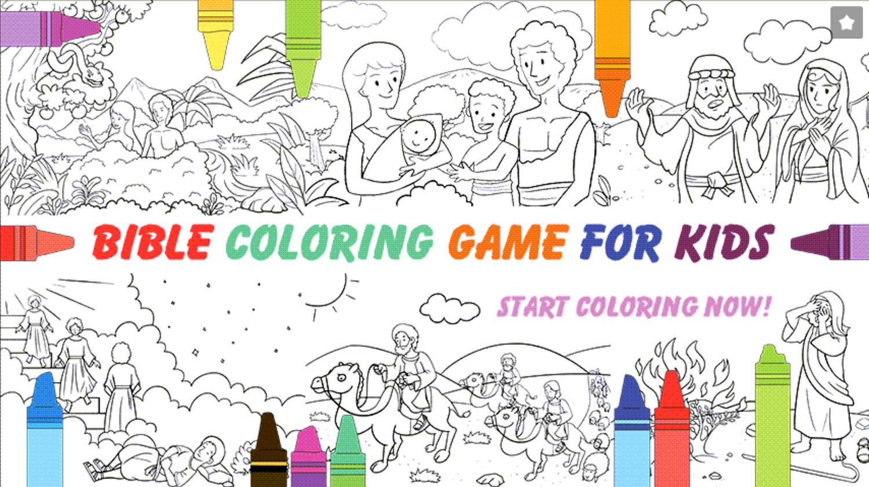 Bible Coloring Book for Kids Screenshot.