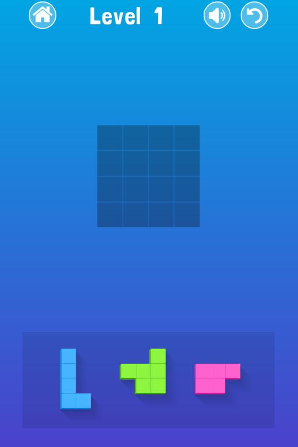 Blocky Game Screenshot.