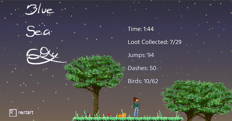 Blue Sea City Escape Screenshot.