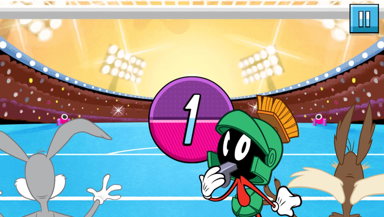 Boomerang All Stars Super Goalie Game Start Screenshot.