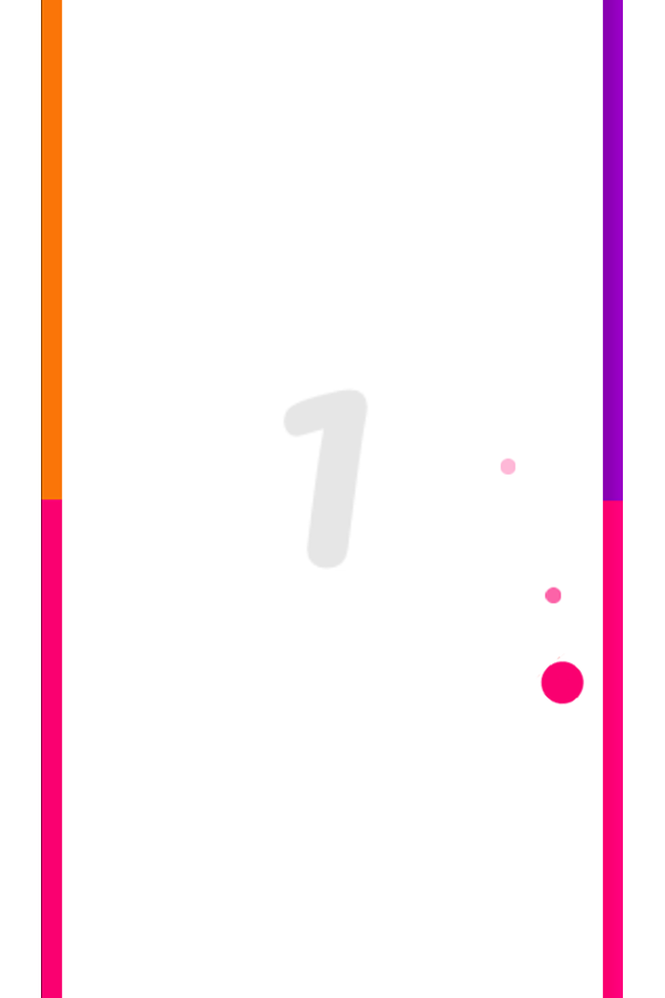 Bouncer Game Screenshot.