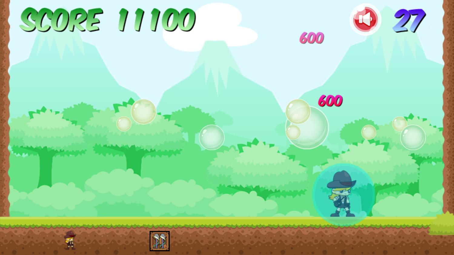 Break Bubble Game Screenshot.