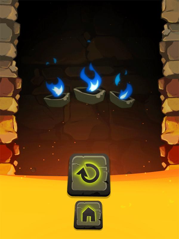 Bunnicula and the Cursed Diamond Game Over Screenshot.