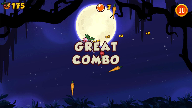 Bunnicula Juicy Bites Game Combo Screenshot.
