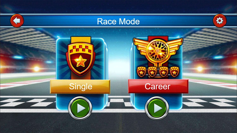 Cars Lightning Speed Game Race Mode Screenshot.
