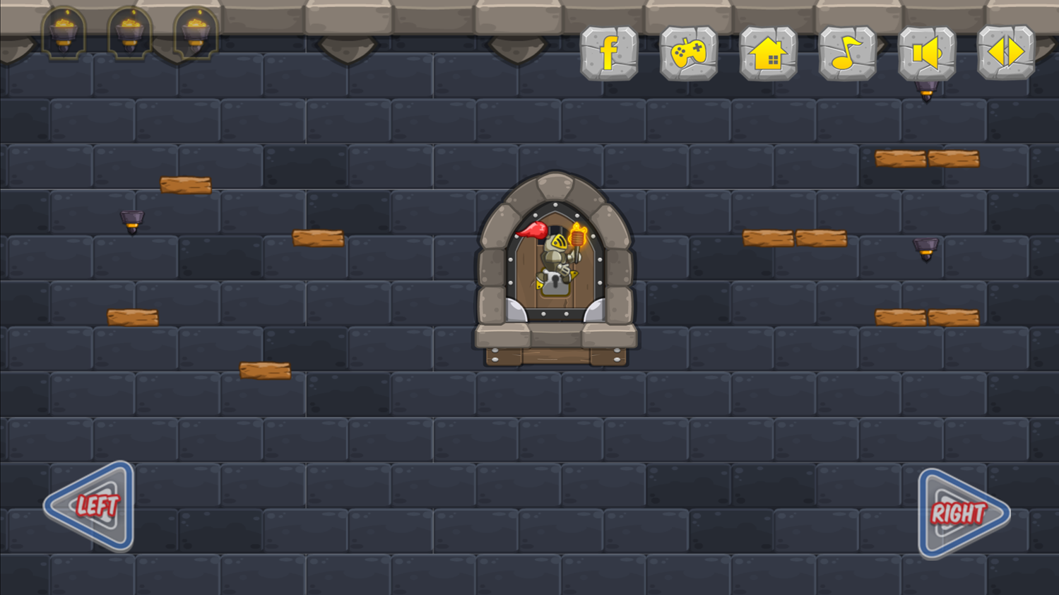 Castle Light Game Screenshot.