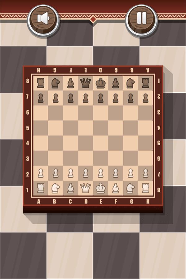 Chess Board Game New Game Screenshot.