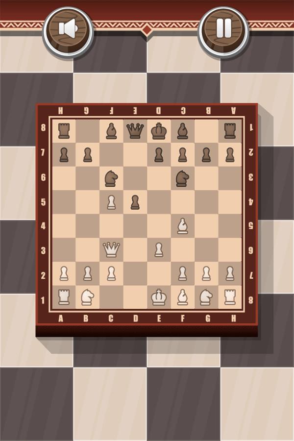 Chess Board Game Play Screenshot.